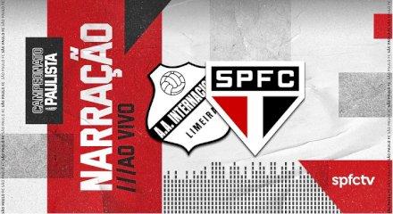 Inter de Limeira x São Paulo  - Narração SPFCTV