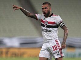 Fluminense entra na briga por Daniel Alves e envia proposta ao ex-lateral do São Paulo