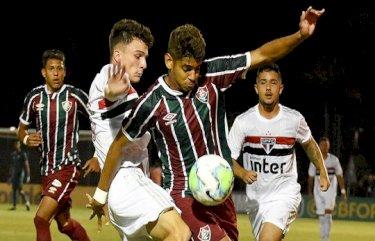 São Paulo empata com Flu no primeiro jogo da final da Copa do Brasil Sub-17